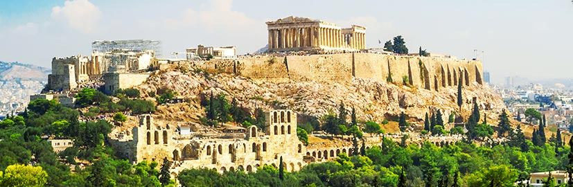 Temple of Parthenon, Athens, Greece