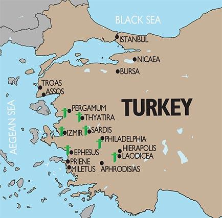 Tutku Tours Seven Churches Of Revelation Nicaea And
