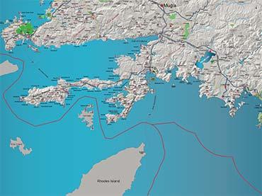 TUTKU TOURS TURKEY MAPS Archaeological Map of Turkey Izmir