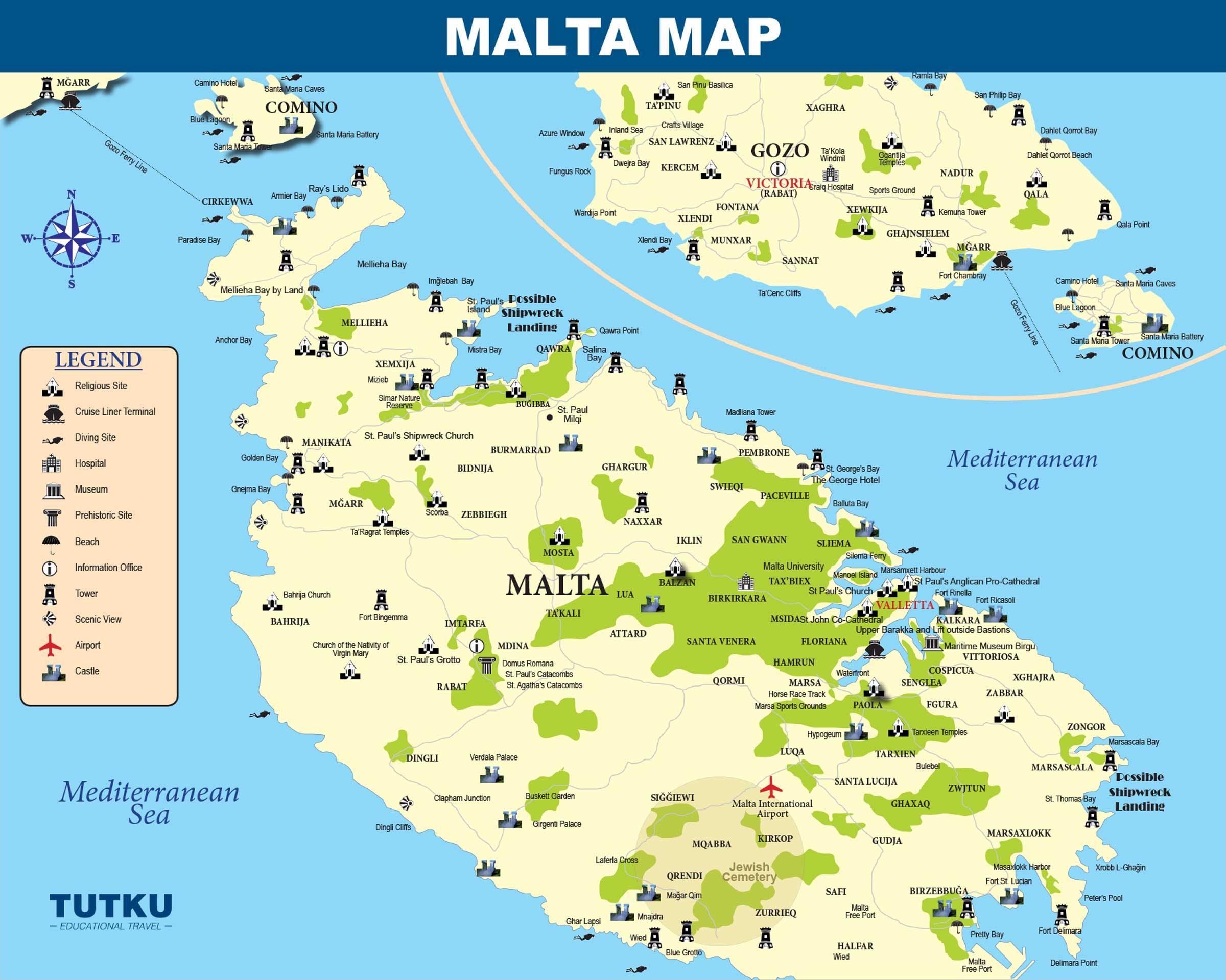 TUTKU TOURS - MAPS - Turkey Maps, Italy Map, Greece Map, Israel Map ...