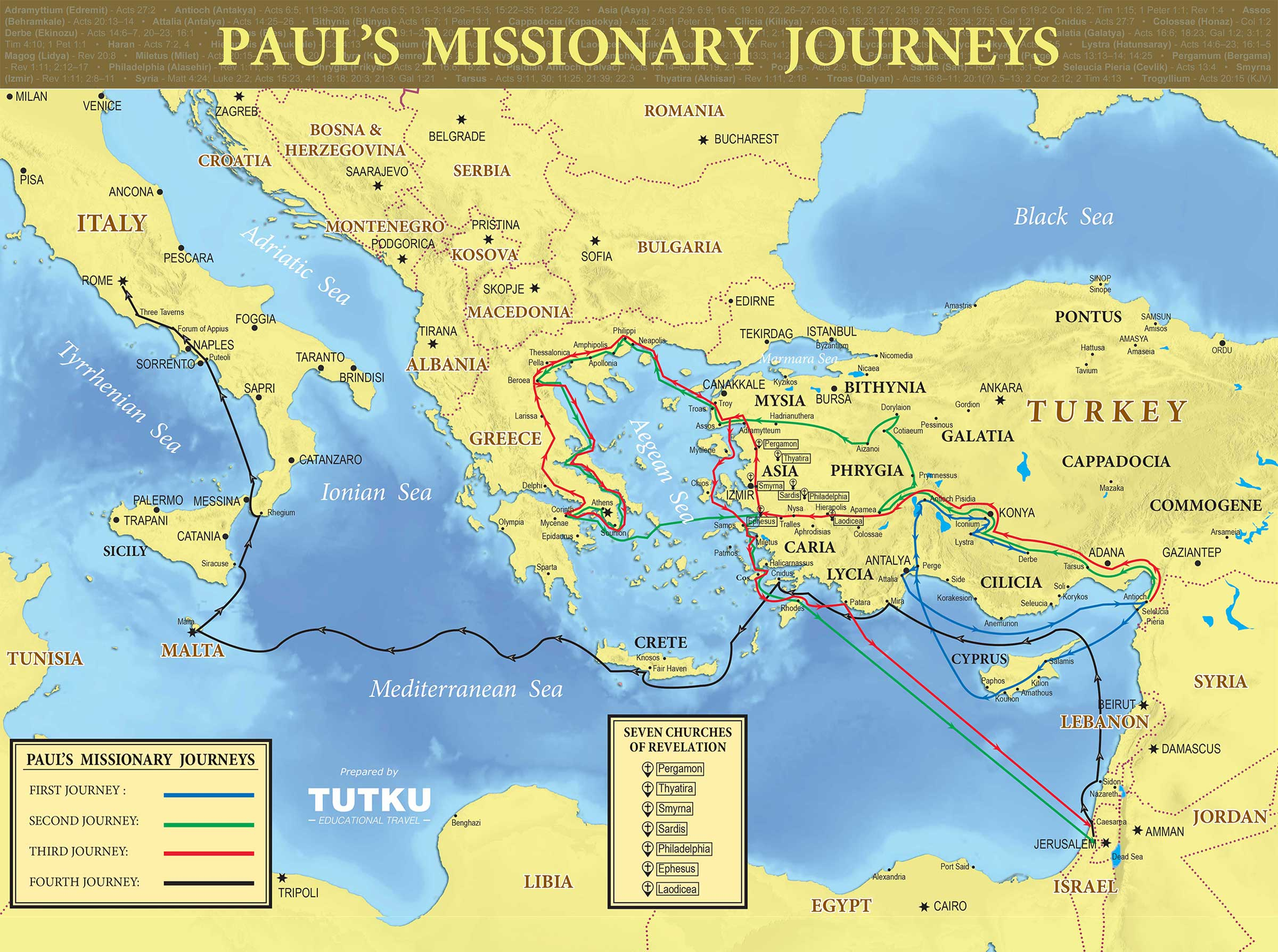 Map Of Italy Greece.Tutku Tours Maps Turkey Maps Italy Map Greece Map Israel Map