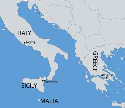TUTKU TOURS TURKEY - PAUL AND PETER IN GREECE, MALTA ...
