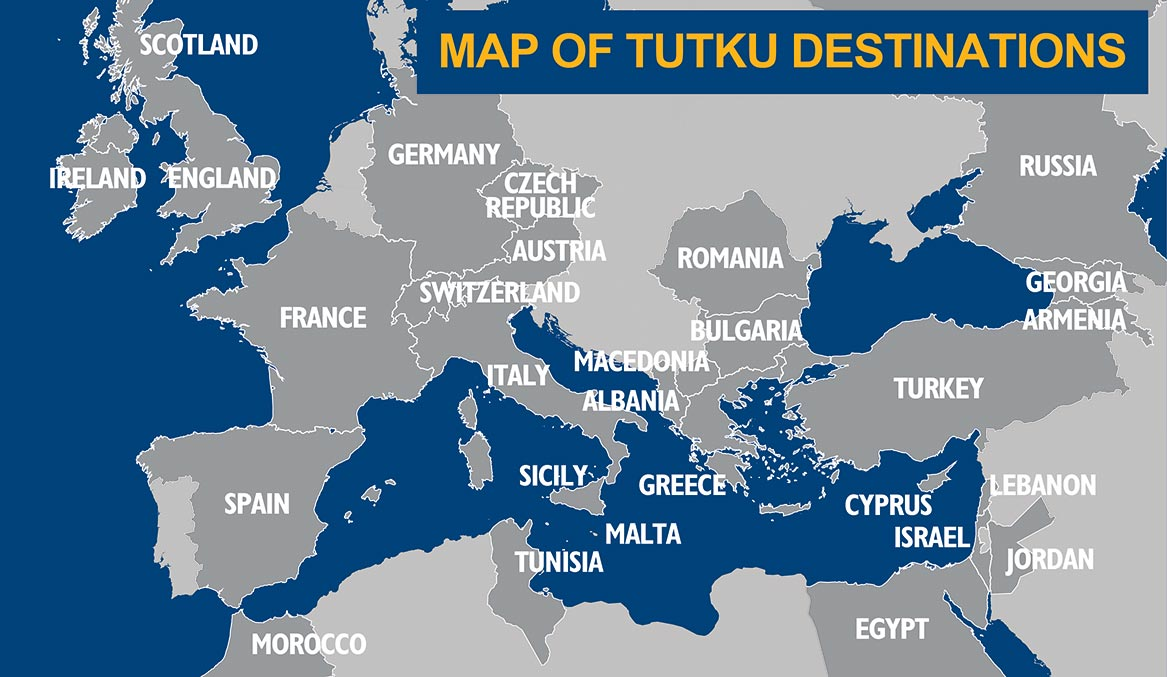 Image of: Tutku Tours Maps Turkey Maps Italy Map Greece Map Israel Map Ancient City Plans Of Turkey